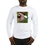 Two Eagles-b on Long Sleeve T-Shirt