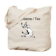 Custom Happy Cow Tote Bag