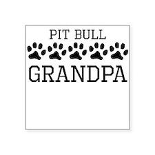 Pit Bull Grandpa Sticker