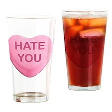 Unique Antivalentine Drinking Glass