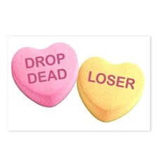 Hilarious valentine Postcards (Package of 8)
