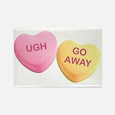 Hilarious valentine Rectangle Magnet