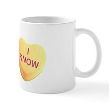 Funny I heart candy Mug