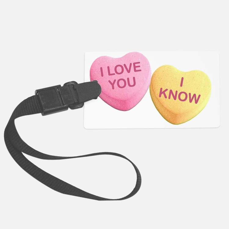 Cute Hilarious valentine Luggage Tag