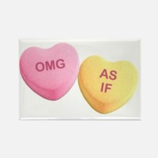 Cool Hilarious valentine Rectangle Magnet
