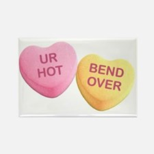 Funny Hilarious valentine Rectangle Magnet