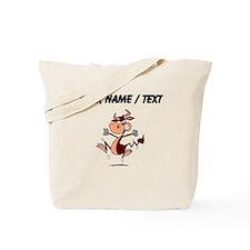 Custom Angry Bull Tote Bag