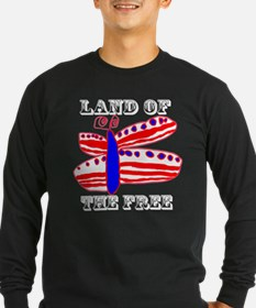 Land of the Free Butterfly T