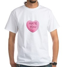 Hate You Candy Heart T-Shirt