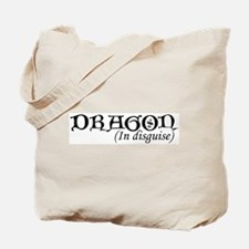 Dragon In Disguise Tote Bag