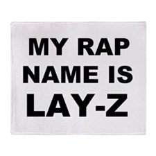 Lay-Z Throw Blanket