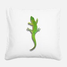 gecko1.png Square Canvas Pillow