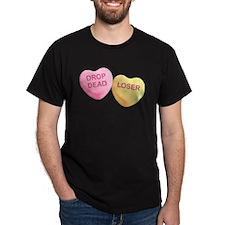 DROP DEAD - LOSER - Candy Hearts T-Shirt