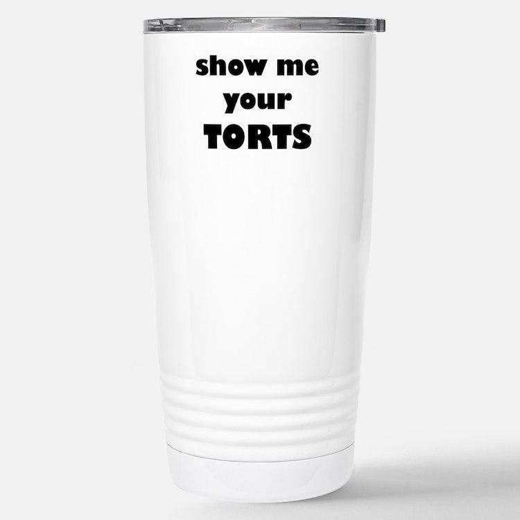 Cute Law firm Travel Mug