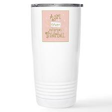a girl never outgrows Tinkerbell Thermos Mug