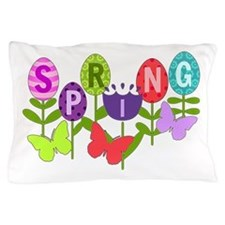 Spring Eggs Pillow Case