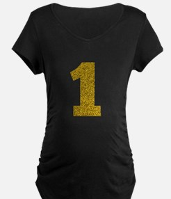 Number 1 Maternity T-Shirt
