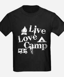 Live, Love, Camp T-Shirt