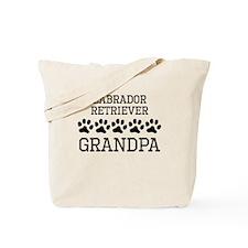 Labrador Retriever Grandpa Tote Bag