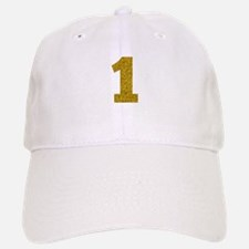 Number 1 Baseball Baseball Cap
