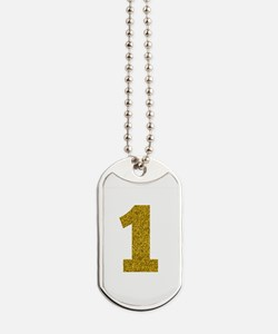 Number 1 Dog Tags