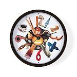 'Cosmic Egg Timer' wall clock