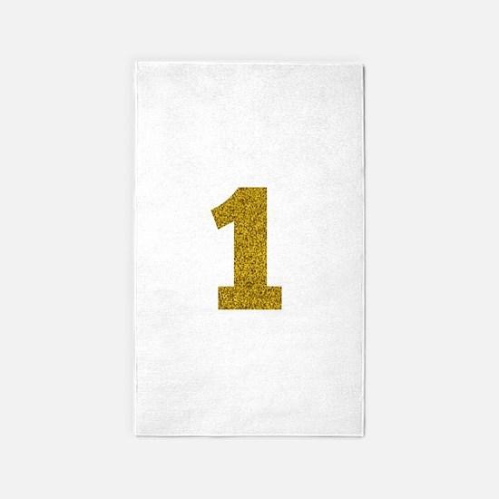Number 1 Area Rug