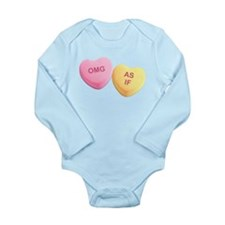 OMG - AS IF - Candy Hearts Body Suit