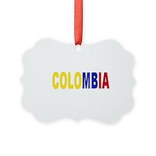 Colombia tricolor name Ornament