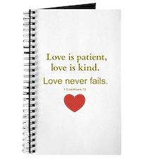 Love is Patient, Love is Kind Journal