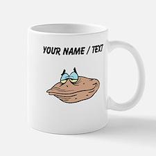 Custom Cartoon Clam Mugs