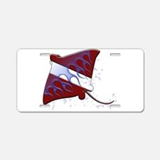 Dive Flag: Ray Aluminum License Plate