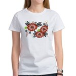 Petrykivka Flowers I Women's T-Shirt