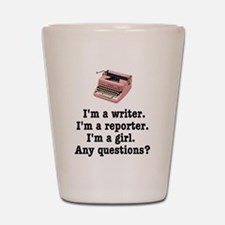 pinktypewriterback.jpg Shot Glass