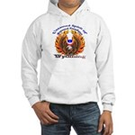 Two Eagles-a on Hooded Sweatshirt