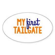 My First Tailgate Decal