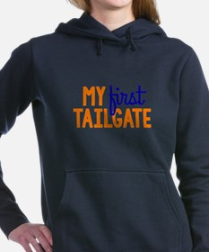 My First Tailgate Women's Hooded Sweatshirt