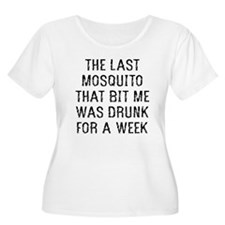 The Last Mosquito Plus Size T-Shirt