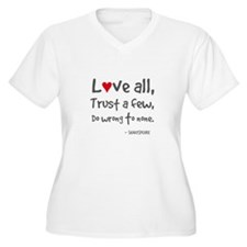 L?ve all Plus Size T-Shirt