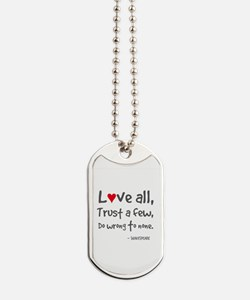 L?ve All Dog Tags
