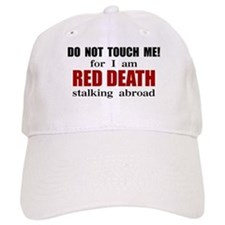Red Death Stalking Abroad Baseball Cap