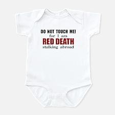 Red Death Stalking Abroad Infant Bodysuit
