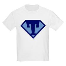 Super Hero Letter T T-Shirt