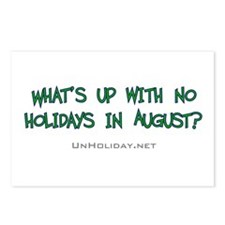No August Holidays 02 Postcards (Package of 8)