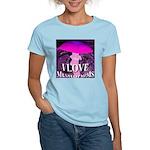 I Love Mushrooms Spherized Women's Light T-Shirt