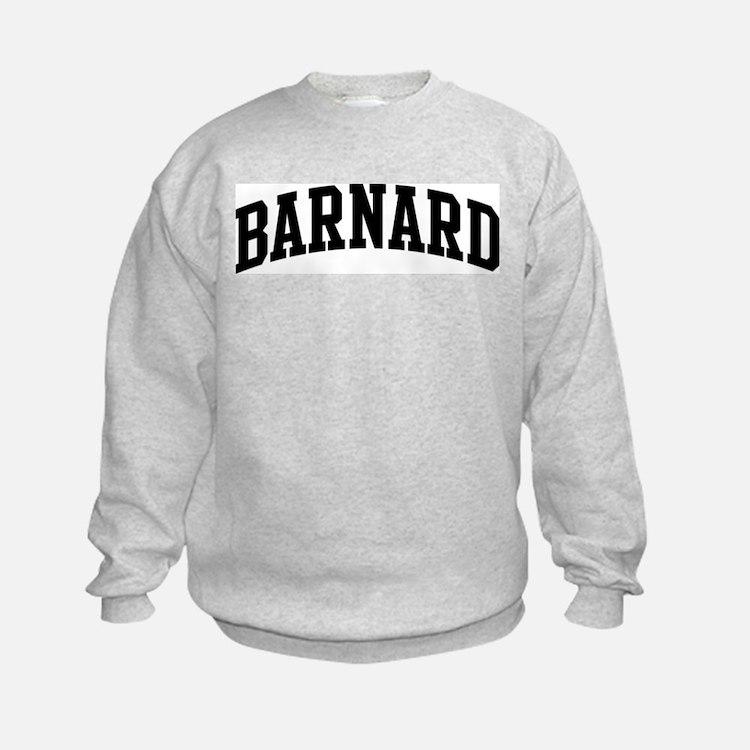 BARNARD (curve-black) Sweatshirt