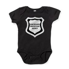 Cute Baby guard dog Baby Bodysuit