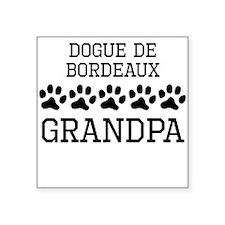 Dogue de Bordeaux Grandpa Sticker