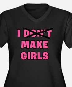 I Make Girls Plus Size T-Shirt