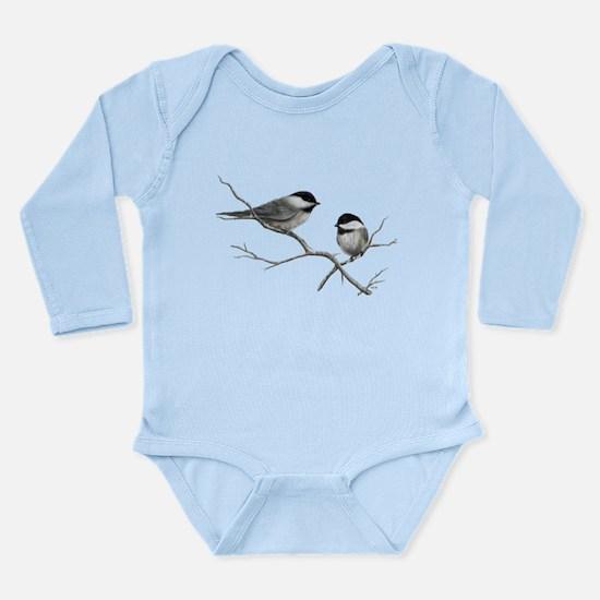 chickadee song bird Body Suit